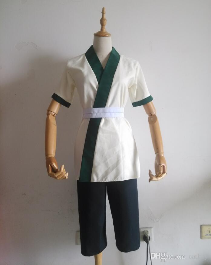 cosplay Naruto Senju column between the young for more than 6 years old short-sleeved suit V-neck Slim version of a code