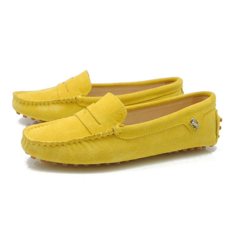 e0f431a8ef7 Fashion Women'S Peas Driving Slip On Loafers Lady Flat Shoes Womens  Moccasins 100%Genuine Leather Yellow 960 3 Mens Loafers Buy Shoes Online  From ...
