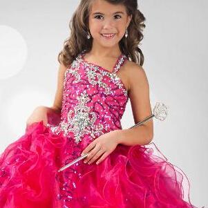 فساتين المسابقة الخاصة بالفتاة PRE-TEEN فساتين العباءات الكرتونية زهرة البنات Dressess 02 الرسمية