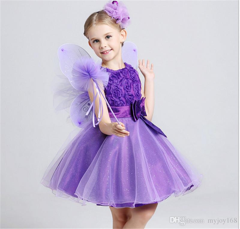 Baby Girl Dress Children Weddings Princess Pageant Party Dresses ...