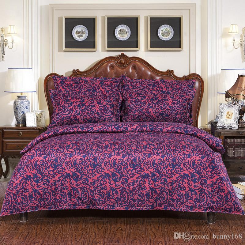 2016 home textile good quality 3/4 pcs Jacquard bedding set Bed bed Sheet Quilt/Duvet Covers PillowCase Bedclothes Bed Linen