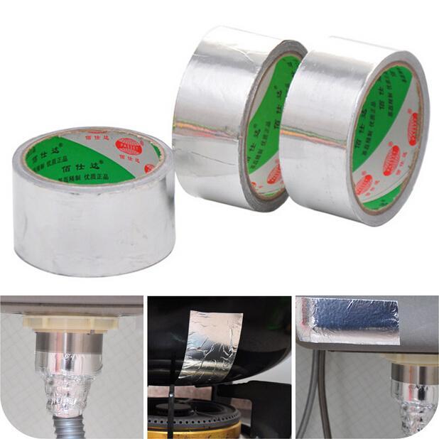 قوي موثوق الألومنيوم احباط الشريط 4.3CM * 10M لفة مثالية للانعكاس الحراري CYB15