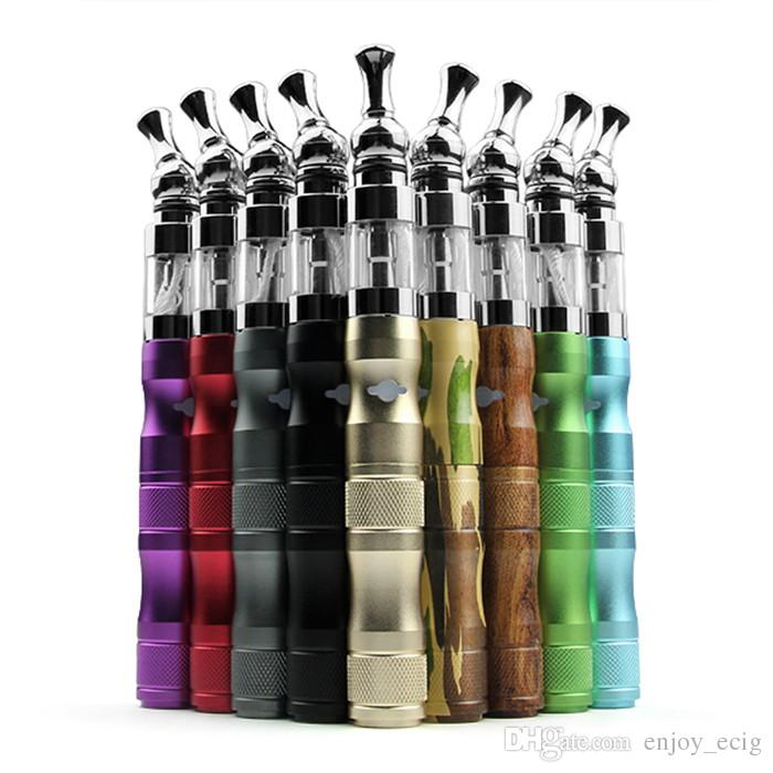X6 V2 Starter kit e cigs cigarrillos electrónicos 1300mah voltaje variable 3.6V 3.8V 4.2V ego x6 kit