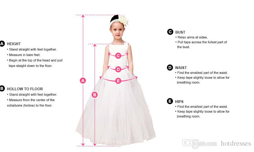 2015 New Appliques Baby Flower Girl Dress Kids Princess Party Prom ...