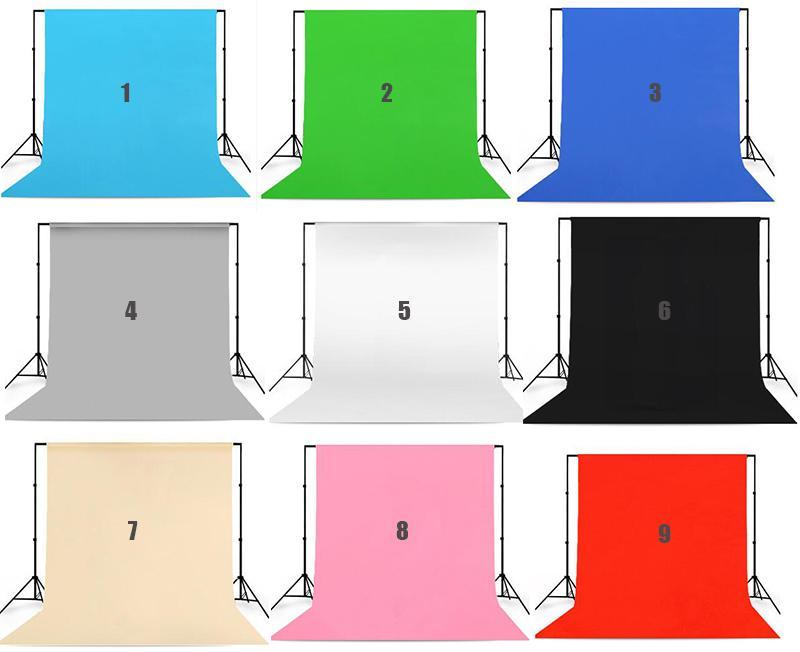 Kostenloserversand fotografie hintergrund halterung 2x3m + stoff hintergrund tuch 2x3m senden clip und handtasche + 4x kräftig clip