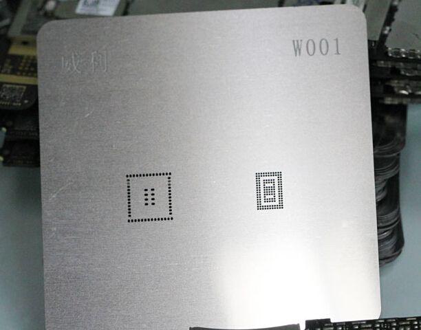 4 S PM8028 için orijinal BGA şablon şablon onarım W001 çalışır