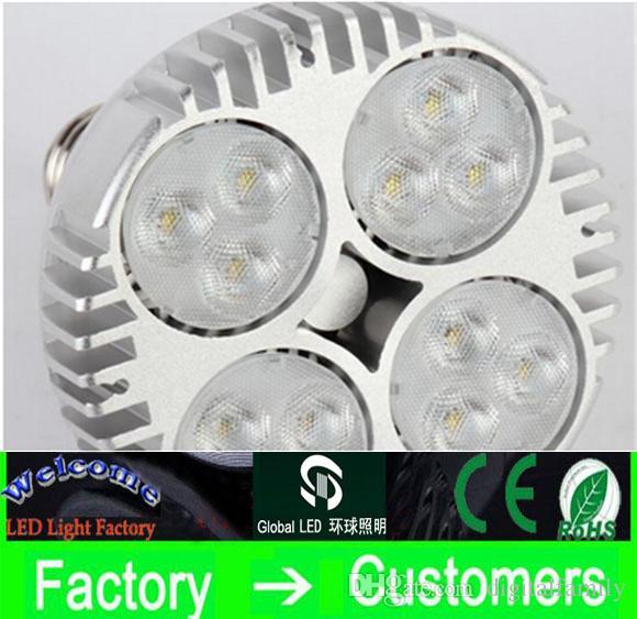 Faretto a LED PAR30 40W 50W Faretto a LED Par 30 20 lampadina a led con ventola per negozio di abbigliamento gioielleria galleria binario illuminazione museo illuminazione