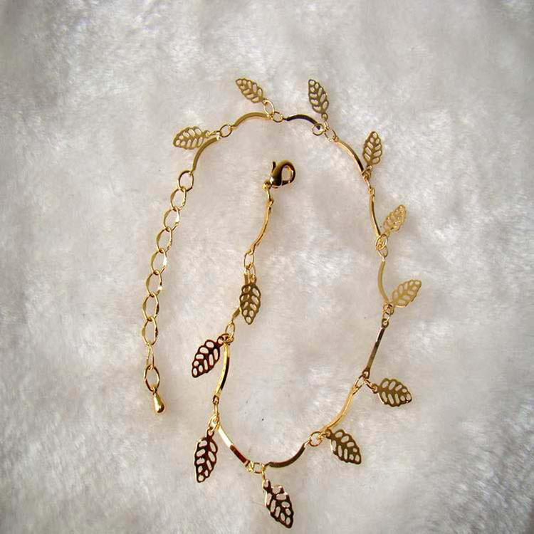 Anklets Foot Jewelry Gold silver Plated summer style Trendy Gift ...