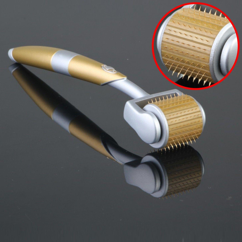 ZGTS Luxury 192 티타늄 마이크로 바늘 Derma 롤러 여드름 흉터 안티 에이징 피부 뷰티 케어 회춘