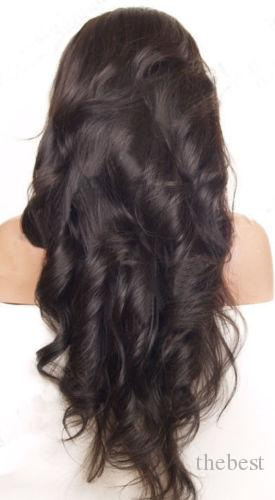 2016 البرازيلي كامل الرباط الباروكة عذراء الشعر البشري غلويليس كامل الرباط الباروكات نطاط موجة