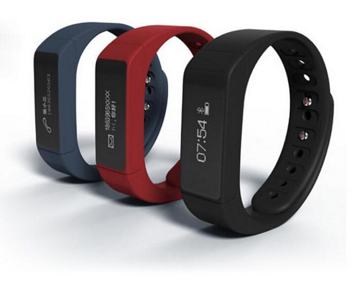 IWown I5 Mais Inteligente Pulseira Bluetooth 4.0 Atividade Pulseira Relógio Inteligente Esportes Passo Passo Faixa de Sono À Prova D 'Água Pulseira Inteligente