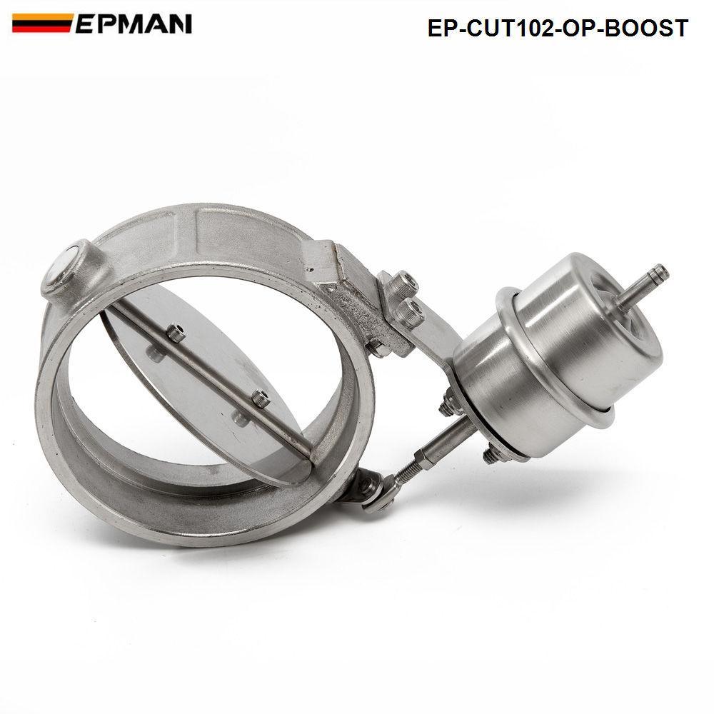 EPMAN-H G NEW Boost-Auspuff-Ausschnitt aktiviert / Dump 102MM Open Style Druck: ca. 1 bar EP-CUT102-OP-BOOST