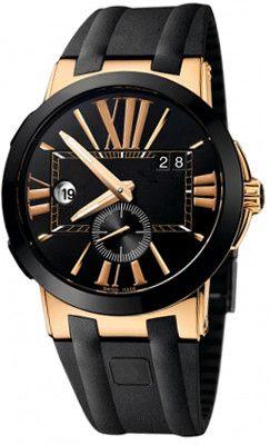 남성 패션 스타일 시계, 남성용 UN2 시계 손목 시계 블랙 다이얼 자동식 남성 손목 시계