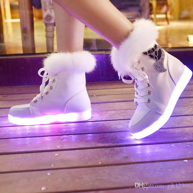 Cheap Hot! Led Shoes For Women Fashion Light Up Casual Shoes For ...