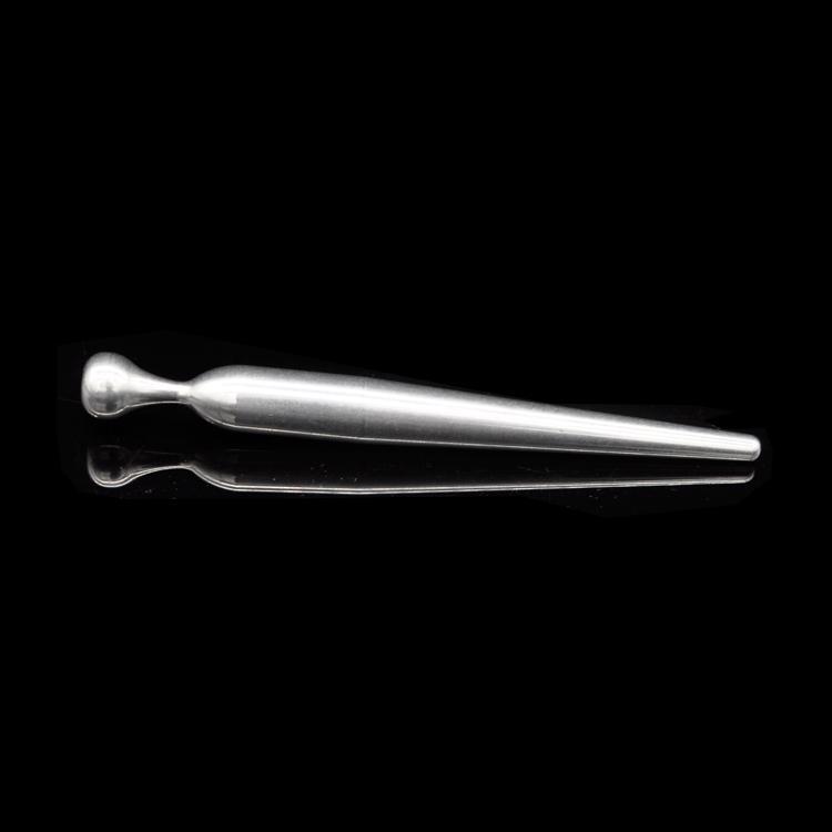 Venta al por mayor masculina de acero inoxidable - Último diseño Bondage Uretra Castidad Dilatador Real Varita fresca