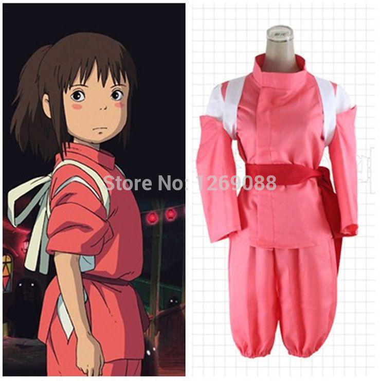 Miyazaki Hayao Spirited Away Chihiro Ogino Sen Cosplay Costume Custom Made Emboitement Buying Cosplay Anime Cosplay Accessories From Minicon 30 87 Dhgate Com