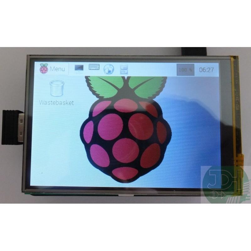 Raspberry Raspberry Pi 3 o B + da 3,5 pollici a colori TFT LCD display touchscreen per lo studio Starter Kit di sviluppo di base