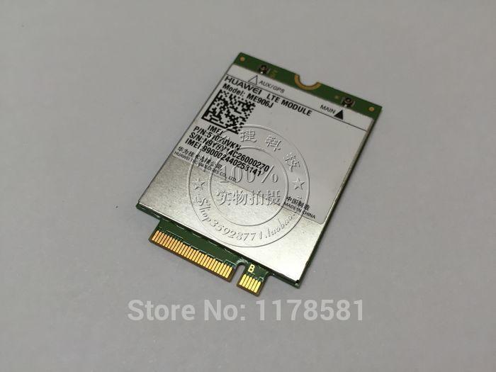 Freeshipping Unlocked HUAWEI ME906J 3G 4G WWAN LTE Module Quad-band WCDMA GPS NGFF internal Wireless M.2 card