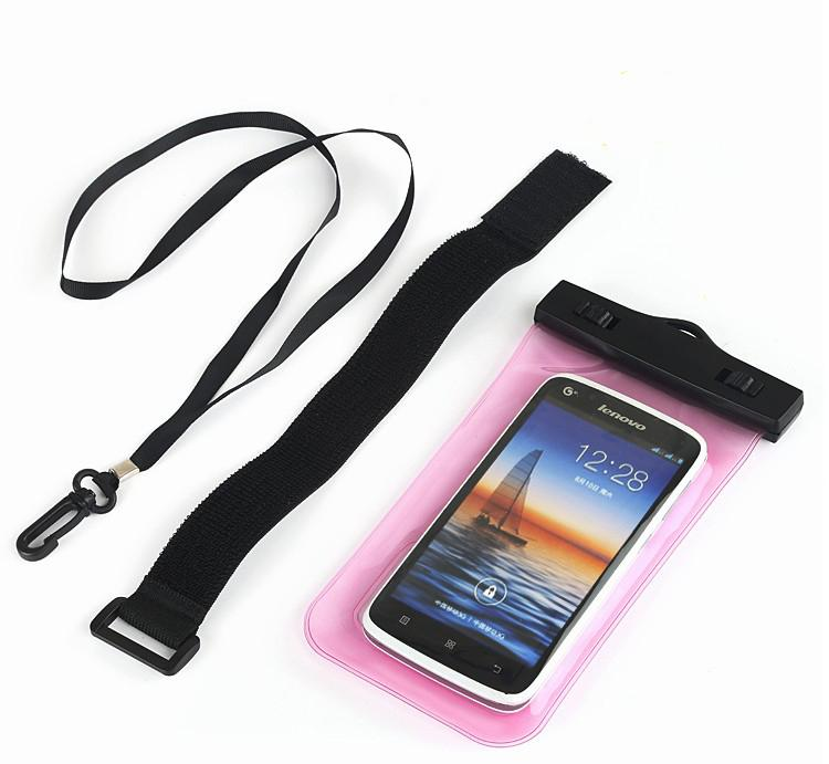 Universal Clear View Waterproof Diving Pouch Case Cover Bag Armband Sport Case For iPhone 6 Plus Samsung Galaxy s6 edge