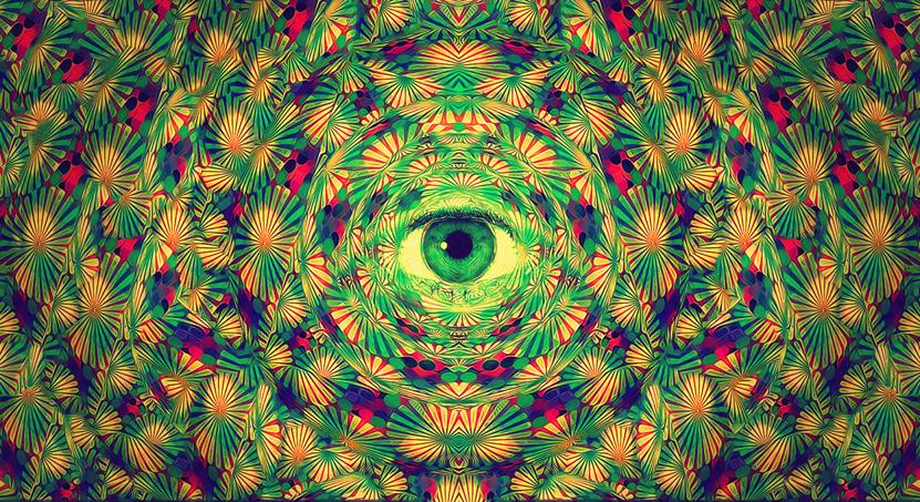 Best Quality Psychedelic Trippy Art Fabric Poster 43 X 24 24 X 13 Decor 09  At Cheap Price, Online Paintings | DHgate.Com