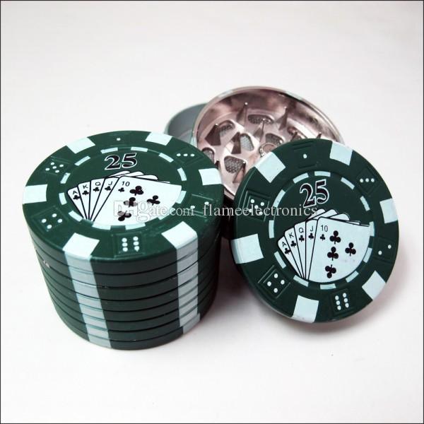 3 Peças de Moedor De Erva de Tabaco Moedor De FIO 42 * 31mm 90g 12 pcs Por Caixa de Metal Criativo Ferramentas Fumar