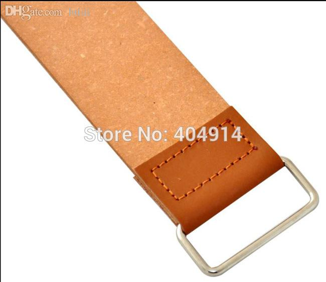 Wholesale-Sharpening Razor Shaving Leather Strop For Barber Straight Razor Fold Knife Sharpening Shave TY-45
