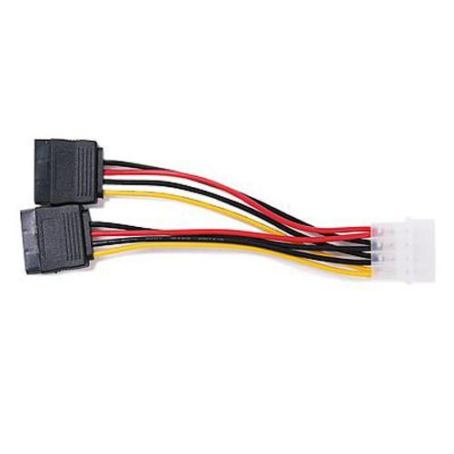 Wholesale 10 Pcs 2 Port SATA Splitter Power Cable X 15