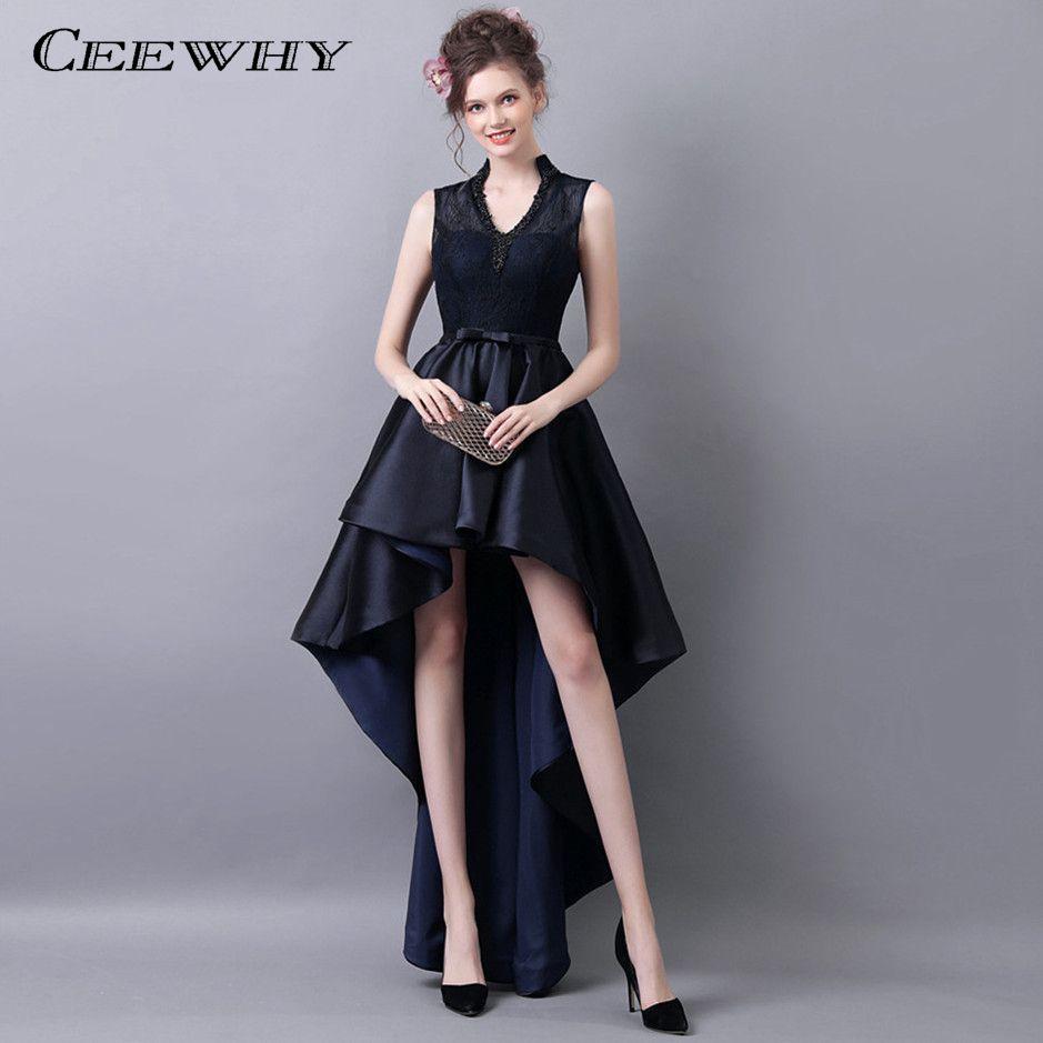 vestito elegante asimmetrico