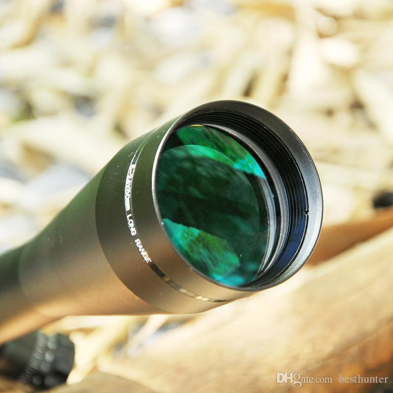 Leupold MARK 4 6 24X50 M1 Tactical Rifle Scope Hunting Optics Scope Red And  Green Dot Fiber Reticle Long Eye Relief Rifle Scopes Birding Scopes Long