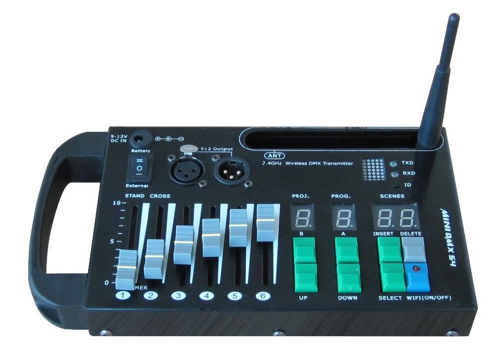 DMX 512 Wireless 2.4G Empfänger Sender Controller für Bühne DMX Lichteffekte