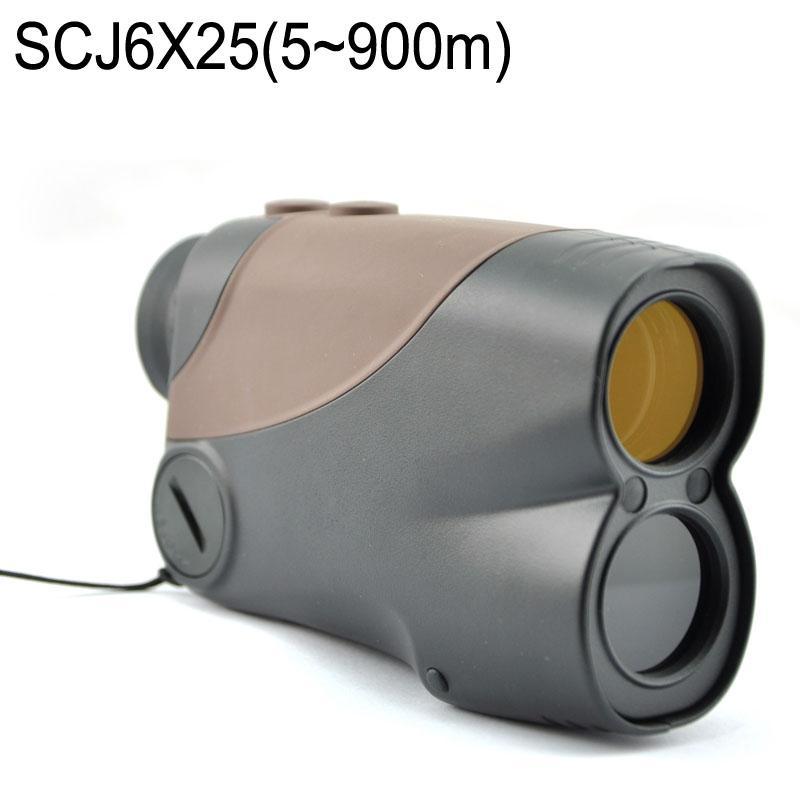 Télémètre de visée Télémètre laser 6X25CJ Monoculaire Scope 600 m Télescopes de distance pour le golf pour la chasse