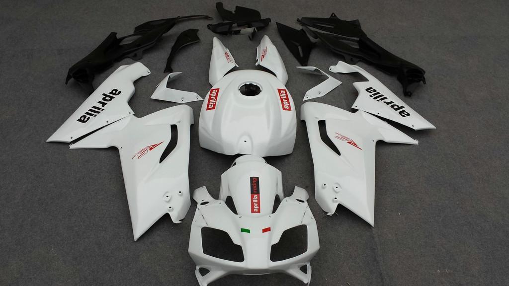 حقن القالب Fairing Fit لـ Aprilia RS125 2007 2008 2011 bodywork RS 125 07 08 09 10 11 White Fairings set