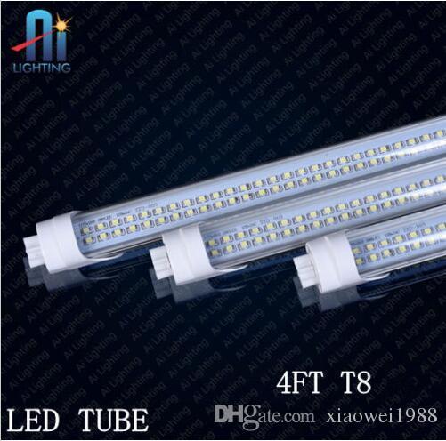 새로운 T8 Led 튜브 28W 192pcs SMD 2835 T8 4FT 주도 튜브 조명 3200lm CRI85 따뜻한 / 자연 / 멋진 화이트 1.2m AC 85-265V