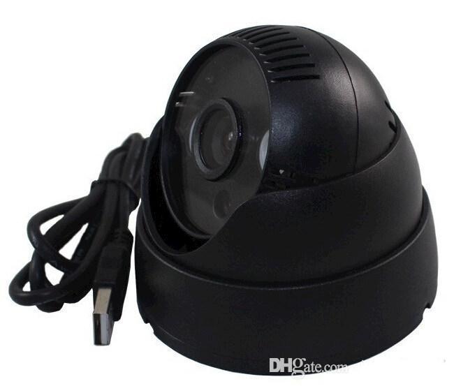 IR Night Vision Home Security DVR Dome CCTV Security Camera K902 5V TF card Video Camera Loop Recording Free Shipping