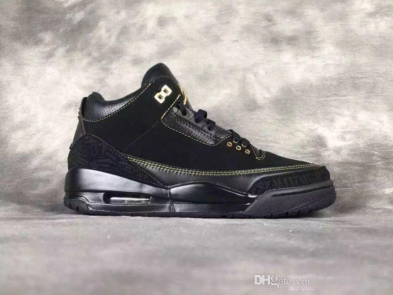 Nike Air Jordan 3 Iii Black History