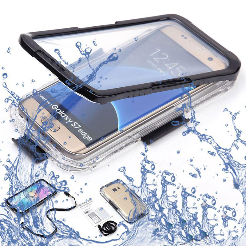 Waterproof Case Swimming Diving Cover For Iphone 7 6 6s /Plus Se 5 5s Samsung S6 S7 Edge Note 5 4 S6 Edge Plus S5 Phone Bags