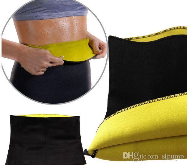 Slimming Waist Trainers Shaper waist Training Belt Unisex Thermo Sauna Neoprene sports yoga Corset S-XXL Size with retail package