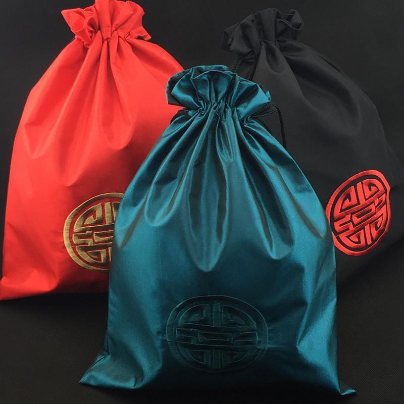 Этническая вышивка радостная сумка для обуви портативная дорожная сумка для взрослых шнурок сумка для хранения складная ткань сумка обувь