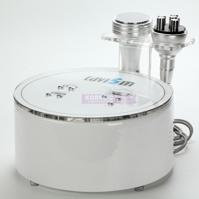 Máquina ardente gorda 2 da perda de peso da máquina portátil do emagrecimento do RF da cavitação em 1 para o uso home com RF multipolar do ultra-som