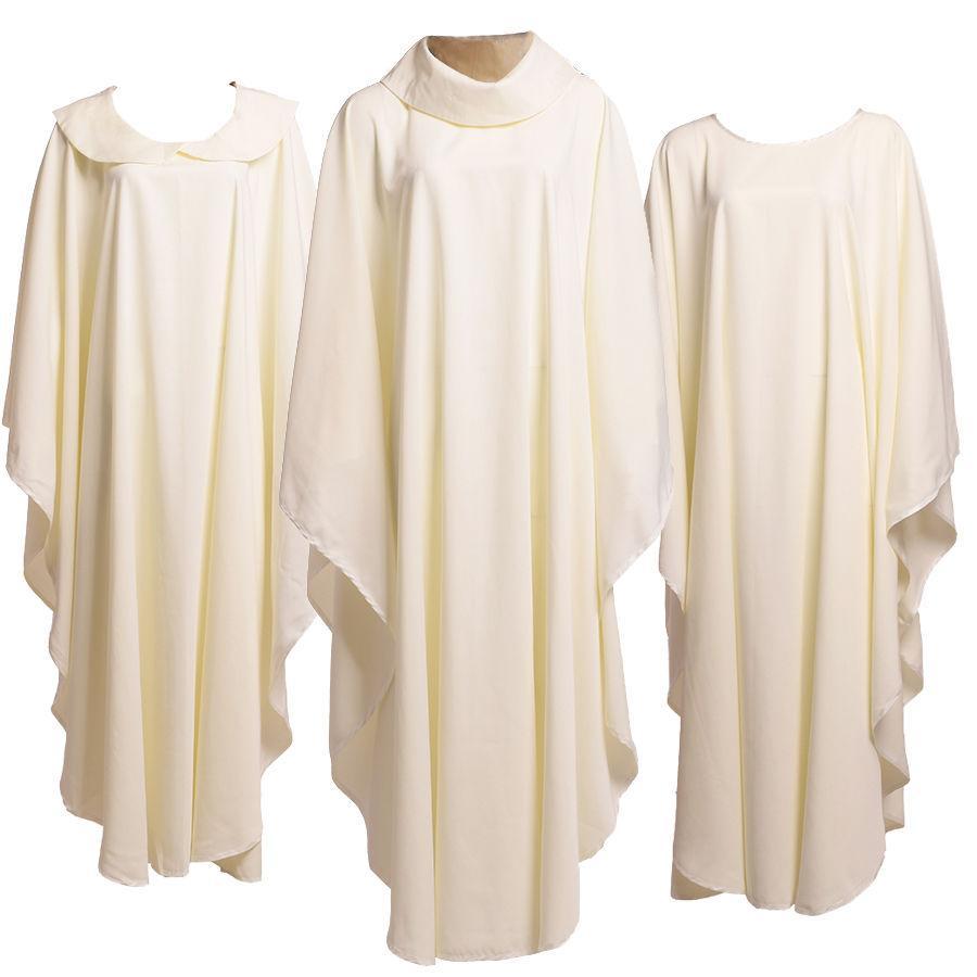 Heilige Religie Kostuums voor Persoonlijke Katholieke Kerk Priesters Solid Chasuble WebTment Nieuwe 3 stijlen Snelle verzending