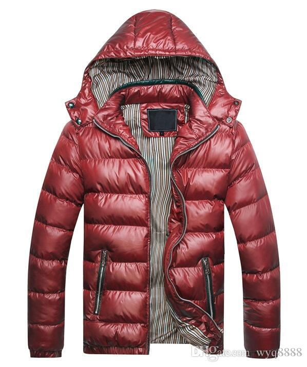 Free shipping 2018 Mens hooded coat jacket Winter Jacket Men Cotton Brand Clothing Jackets Mans cotton Coats