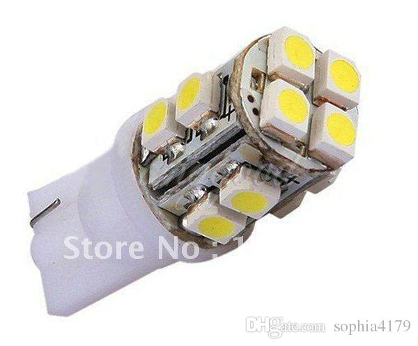 50pcs livraison gratuite T10 12SMD 1210 3528 super lumineux LED éclairage intérieur LAMPE DE VOITURE