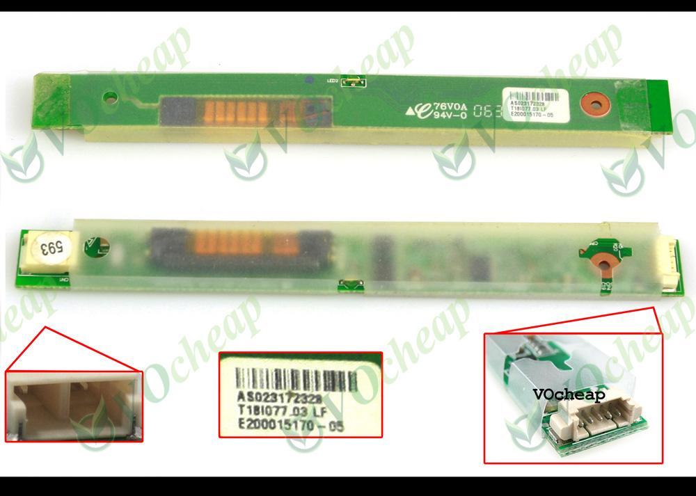 HPパビリオンDV1000シリーズのための2×新規およびオリジナルのLCDインバータ -  T18I077.03