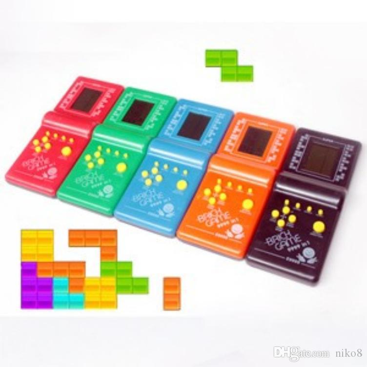 Electronic Games Tetris I091 Electronic Toys Tetris Video Game Console Handheld Cartoon Children S Educational Toys Old Electronic Pet Games Electric