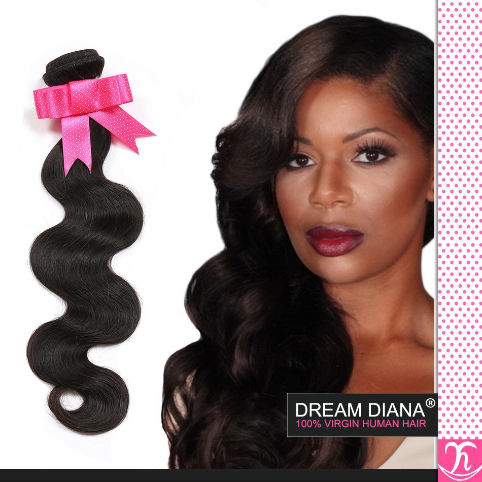Грейс волос бразильский объемная волна 4bundles натуральный 1b скидка бразильский волос Класс 6A бразильский необработанные девственные волосы оптом