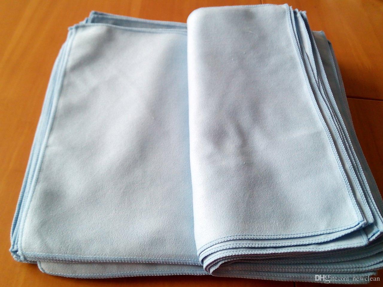 الألياف الدقيقة الألياف الدقيقة من جلد الغزال قماش نظيفة لتنظيف شاشة LCD تمسح زجاج تنظيف منشفة نافذة تنظيف الملابس