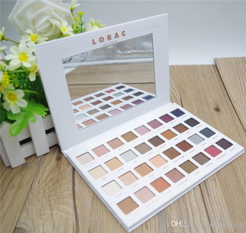 Lorac Mega Pro 3 Palette Eyeshadow 32 Colors Palette Shimmer Matte Brands Eye Shadow Palette Makeup