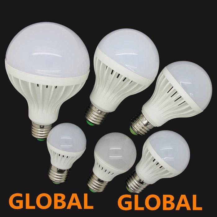 High Brightness Led bulb E27 3W 5W 7W 9W 12W 15W 220V 5730 SMD LED light Warm/Cool White LED Globe Light Energy Saving Lamp free shipping