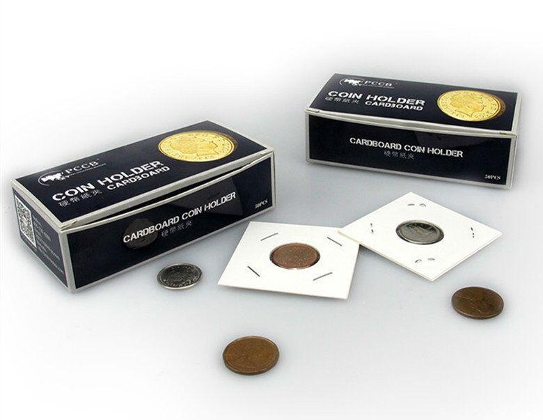 1 коробка карты держатель монета Сувенирная монета 50 шт. в коробке. Бесплатная доставка