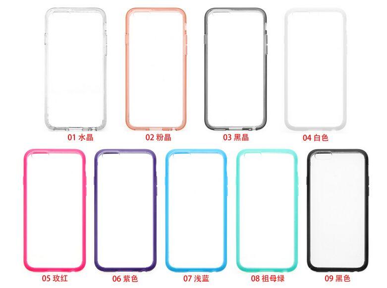 삼성 갤럭시 S7 더하기 가장자리 G9350 울트라 얇은 보이지 않는 tpu + pC 아크릴 크리스탈 쉘 보호 슬리브 세트 휴대 전화의 경우